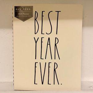 Rae Dunn Large 'BEST YEAR EVER' Planner